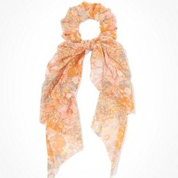 AEO Floral Scarf Scrunchie | American Eagle Outfitters (US & CA)