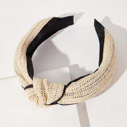 Knot Decor Braided Design Hair Hoop | SHEIN