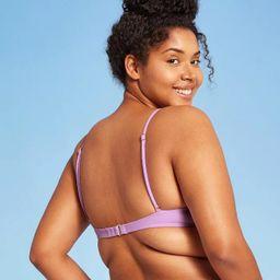 Juniors' Shirred Underwire Bikini Top - Xhilaration™ | Target