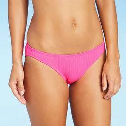Juniors' Ribbed Cheeky Bikini Bottom - Xhilaration™ | Target