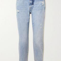 Le Original distressed high-rise straight-leg jeans   Net-a-Porter (US)