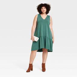 Women's Sleeveless Hem Knit Dress - A New Day™   Target
