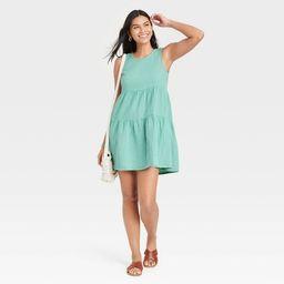 Women's Gauze Tiered Tank Dress - Universal Thread™   Target