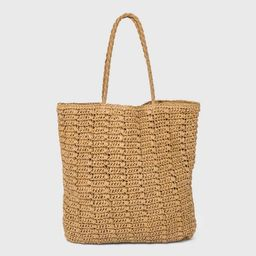 Straw Tote Handbag - Universal Thread™ | Target