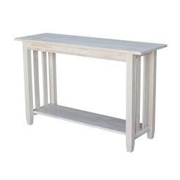 Lynn 48'' Solid Wood Console Table | Wayfair North America