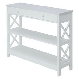 Oxford 1 Drawer Console Table White - Breighton Home | Target