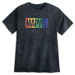 Marvel Logo T-Shirt for Adults – Rainbow Marvel Collection | shopDisney
