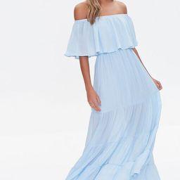 Off-the-Shoulder Maxi Dress   Forever 21 (US)