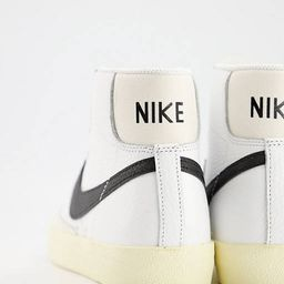 Nike Blazer Mid '77 trainers in off white and light green | ASOS (Global)