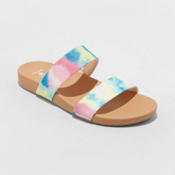 Women's Dedra Two Band Slide Sandals - Shade & Shore™ | Target