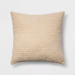 Euro Kantha Stitch Decorative Throw Pillow - Threshold™ | Target