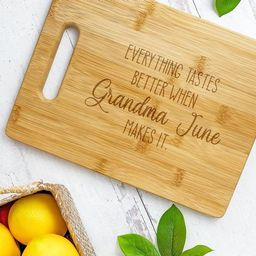 Personalized Mother's Day Cutting Board  Everything   Etsy   Etsy (US)