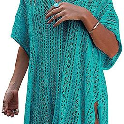 detimi Women's Summer Swimsuit Cover up Bikini Beach Bathing Suit Swimwear | Amazon (US)