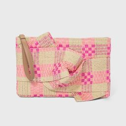 Zip Closure Straw Clutch - A New Day™ | Target