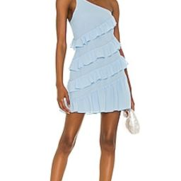 Lovers + Friends Dawn Mini Dress in Baby Blue from Revolve.com | Revolve Clothing (Global)