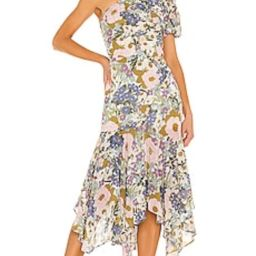 ASTR the Label Santorini Dress in Off White Retro Floral from Revolve.com | Revolve Clothing (Global)