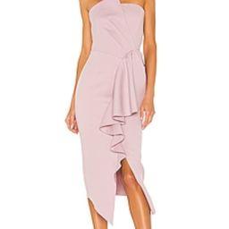 ELLIATT Reception Dress in Iris from Revolve.com | Revolve Clothing (Global)