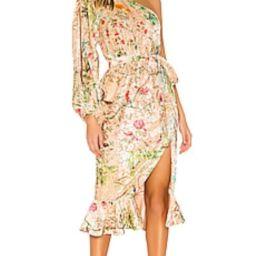HEMANT AND NANDITA Veena Dress in Nude from Revolve.com | Revolve Clothing (Global)