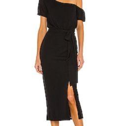 Lovers + Friends Eden Midi Dress in Black from Revolve.com | Revolve Clothing (Global)