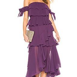 MISA Los Angeles Isidora Dress in Purple from Revolve.com | Revolve Clothing (Global)