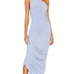 Norma Kamali X REVOLVE Diana Gown in Celestial Blue from Revolve.com | Revolve Clothing (Global)