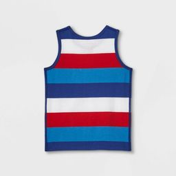 Toddler Boys' Adaptive 4th of July Striped Tank Top - Cat & Jack™ | Target