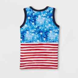 Toddler Boys' Americana Stars and Striped Knit Tank Top - Cat & Jack™ | Target