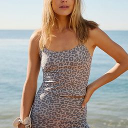 Leopard Cropped Tank | Anthropologie (US)
