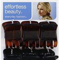 Scunci Effortless Beauty Everyday Fashion Mini Jaw Clips 6 ea (Pack of 5) | Amazon (US)