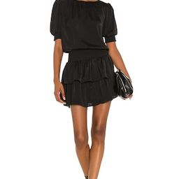 1. STATE Crew Neck Mini Dress in Rich Black from Revolve.com   Revolve Clothing (Global)