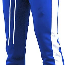 Screenshotbrand Mens Hip Hop Premium Slim Fit Track Pants - Athletic Jogger Bottom with Side Tapi... | Amazon (US)