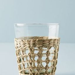 Seagrass-Wrapped Tumblers, Set of 4 | Anthropologie (US)