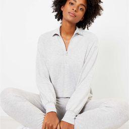 Lou & Grey Signature Softblend Zip Sweatshirt   LOFT   LOFT