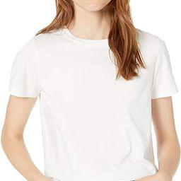 The Drop womens Courtney Short Sleeve Tiny Crewneck Jersey T-shirt | Amazon (CA)