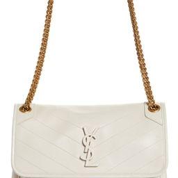 Medium Niki Leather Shoulder Bag   Nordstrom