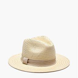 Madewell x Biltmore® Striped-Band Panama Hat | Madewell