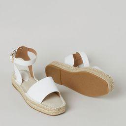 Espadrille Sandals   H&M (US)
