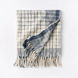Woven Cotton Plaid Throw Blanket - Threshold™ designed with Studio McGee | Target