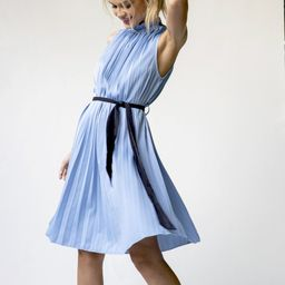 D'orsay Pleat Dress | Bishop + Young