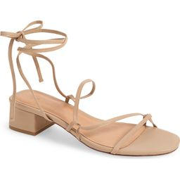 Madewell The Brigitte Lace-Up Sandal (Women)   Nordstrom   Nordstrom