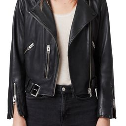 Balfern Leather Biker Jacket | Nordstrom