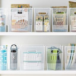 Small Multi-Purpose Bin Translucent | The Container Store