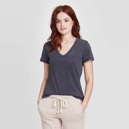 Women's Short Sleeve V-Neck T-Shirt - Universal Thread™   Target