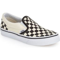 Vans Classic Checker Slip-On (Toddler, Little Kid & Big Kid)   Nordstrom   Nordstrom