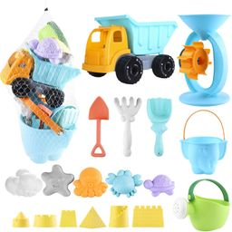 Biulotter 20Pcs Kids Beach Sand Toys Set Sand Water Wheel, Castle Molds, Truck Bucket, Beach Shov...   Amazon (US)