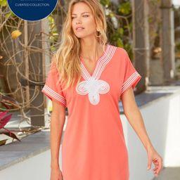 AWL x CL Coral Tee Dress   Cabana Life