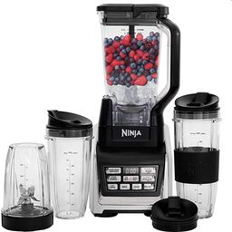 Nutri Ninja Personal and Countertop Blender with 1200-Watt Auto-iQ Base, 72-Ounce Pitcher, and 18... | Amazon (US)