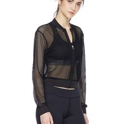 Women's Long Sleeve Mesh Workout Top Sexy See Through Exercise Jacket Zip Up Light Weight Sport S...   Amazon (US)