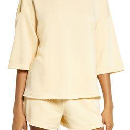 Short Sleeve Sweatshirt | Nordstrom