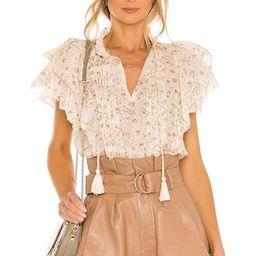 floral blouse   Revolve Clothing (Global)